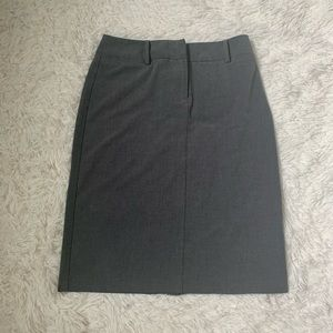New York & Company grey pencil skirt